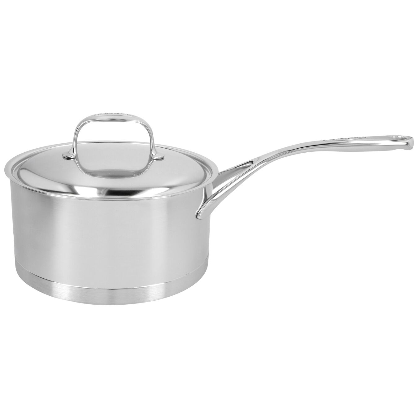 3.2 qt Sauce pan with lid, 18/10 Stainless Steel ,,large 1