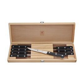 ZWILLING TWIN Gourmet Classic, 8-pc Steak Knife Set with Wood Case