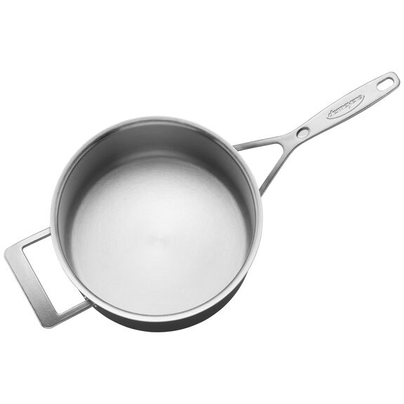 4-qt Stainless Steel Saucepan,,large 2