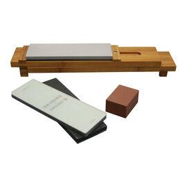 ZWILLING Sharpener, 6-pc Glass Water Stone Sharpening Set