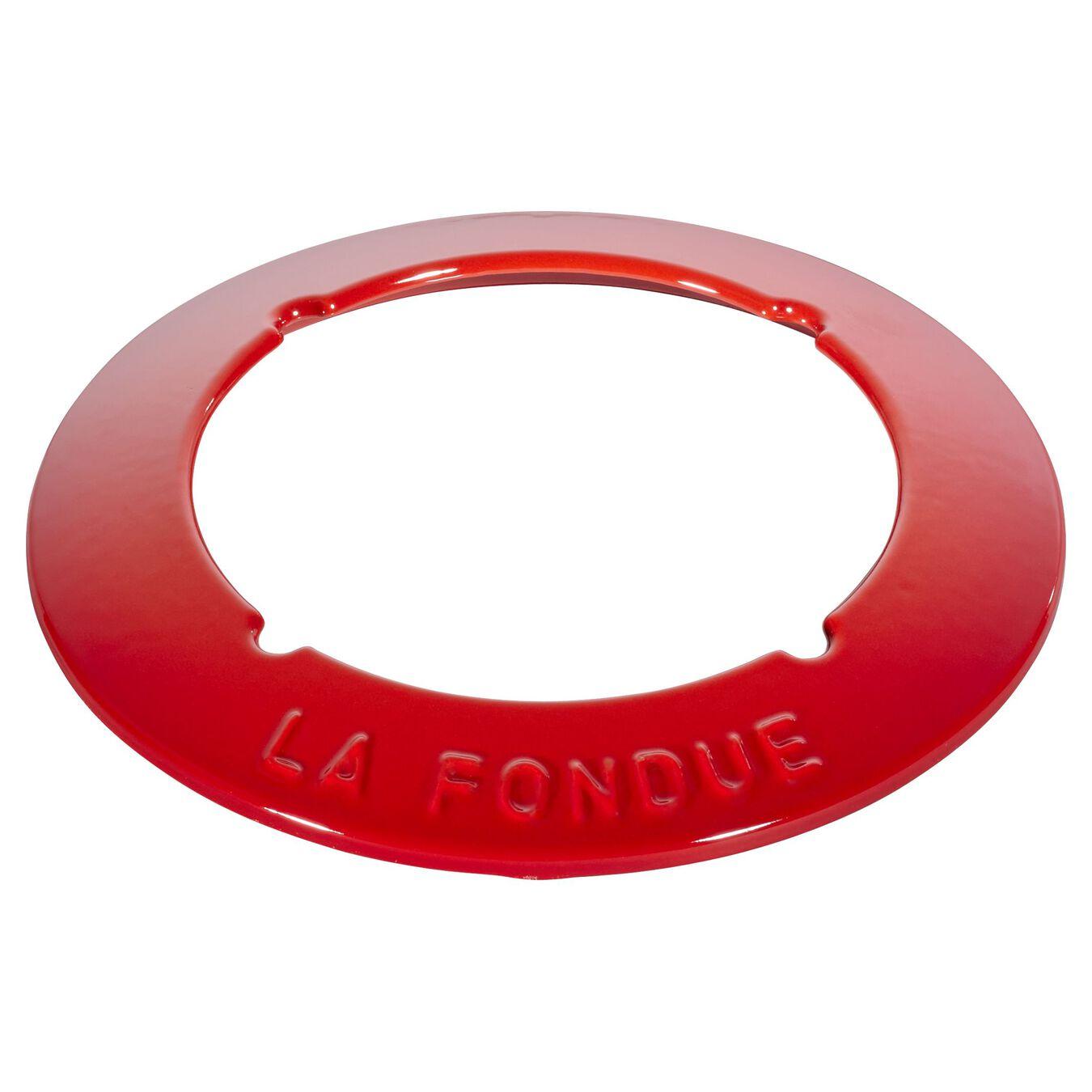 Conjunto para fondue 16 cm, Vermelho cereja,,large 5