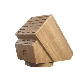 ZWILLING Accessories, 26-slot Bamboo Swivel Knife Block