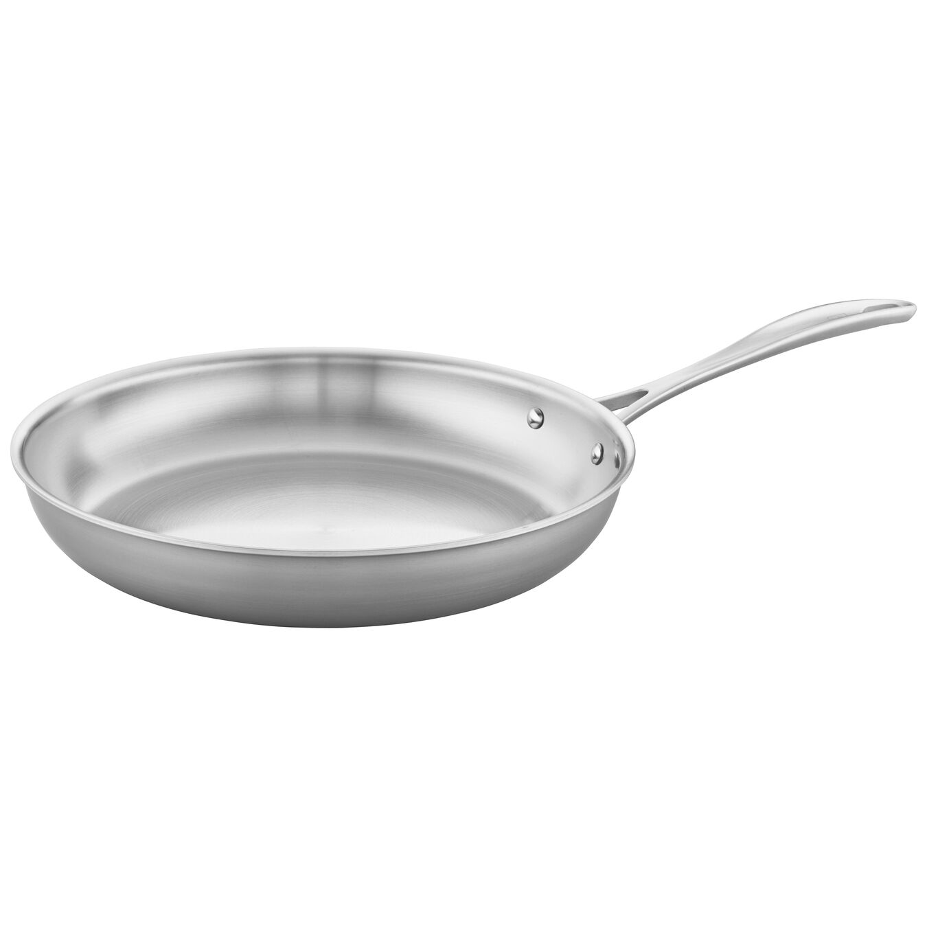 3-ply 12-inch Stainless Steel Fry Pan,,large 1