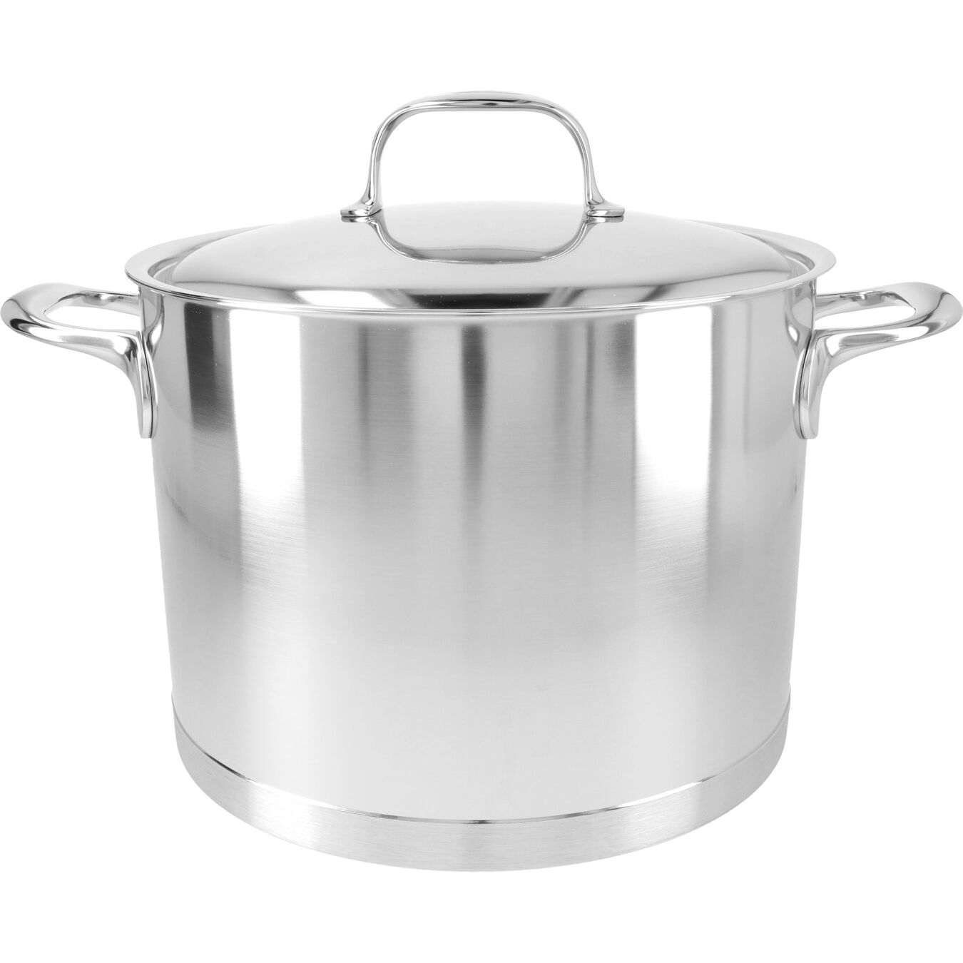 8.5 qt Stock pot with lid, 18/10 Stainless Steel ,,large 1