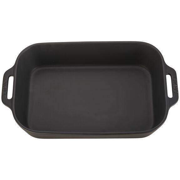 Ceramic Special shape bakeware, Black,,large 2