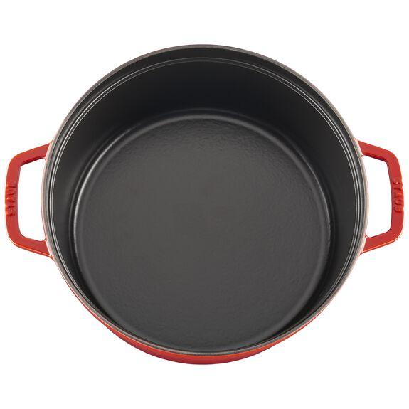 28-cm-/-11-inch round Braise + Grill, Cherry,,large 8