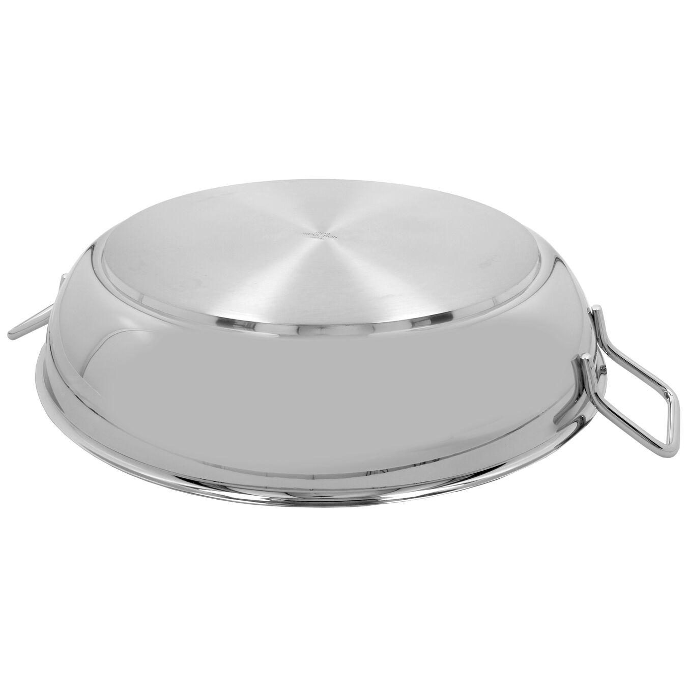 Paella Tavası Kapaksız | 18/10 Paslanmaz Çelik | 46 cm,,large 4