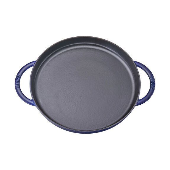 12-inch round Griddle, Dark Blue,,large 2