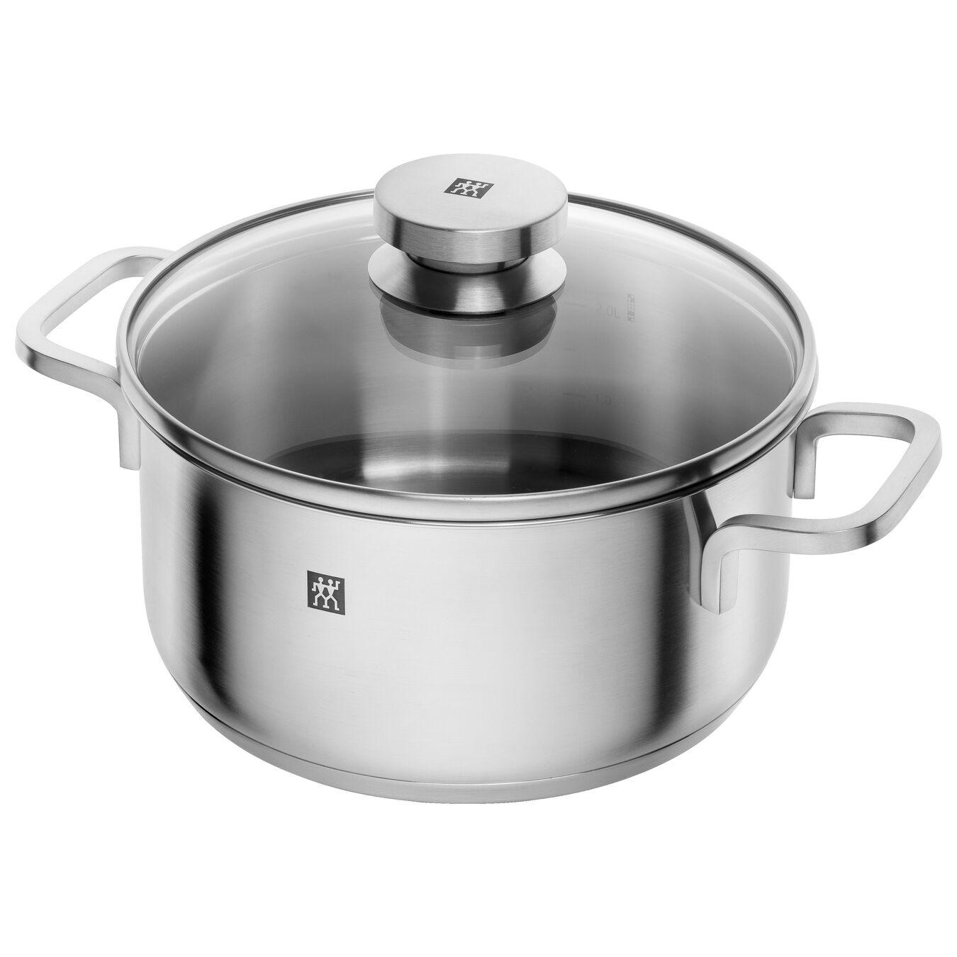 Ensemble de casseroles 5-pcs, Inox 18/10,,large 4