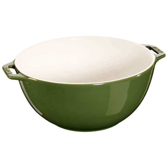 9.5-inch Large Serving Bowl - Basil,,large