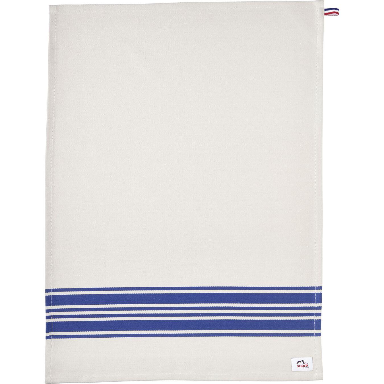 70 cm x 50 cm Cotton Kitchen towel, blue,,large 6