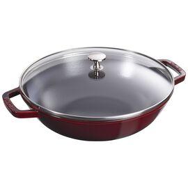 Staub Cast Iron, 4.5-qt Perfect Pan - Grenadine