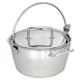 Demeyere Specialties, 10.6-qt Stainless Steel Maslin Pan