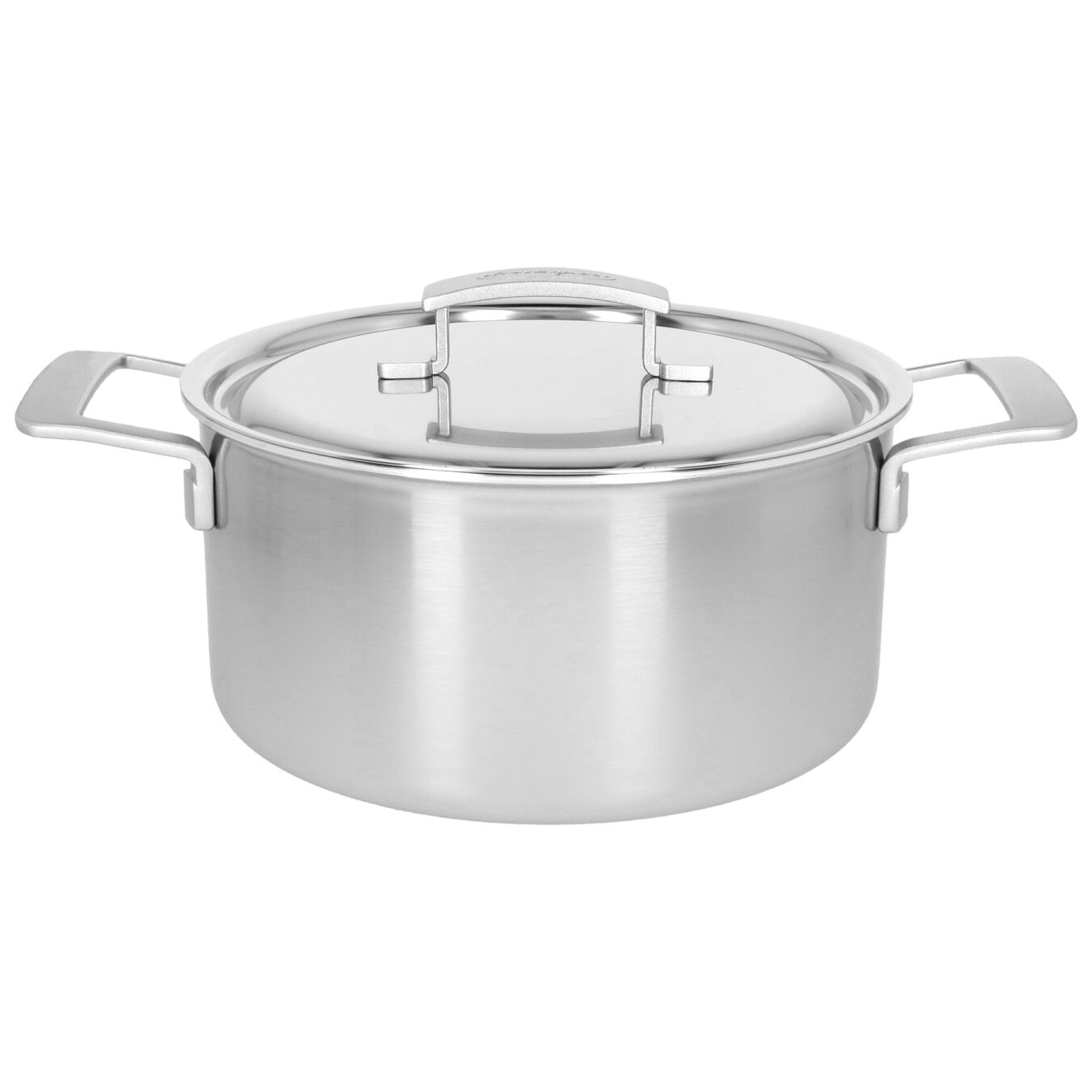 5.5 qt, 18/10 Stainless Steel, Stew pot with lid,,large 1