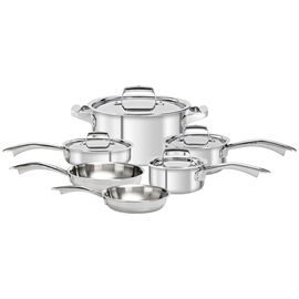 ZWILLING TruClad, 10 Piece 18/10 Stainless Steel Cookware set