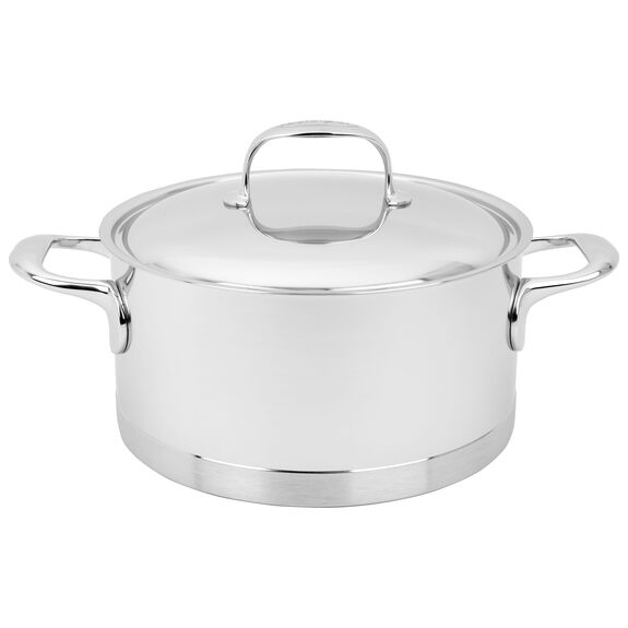 4.2-qt Stainless Steel Dutch Oven,,large