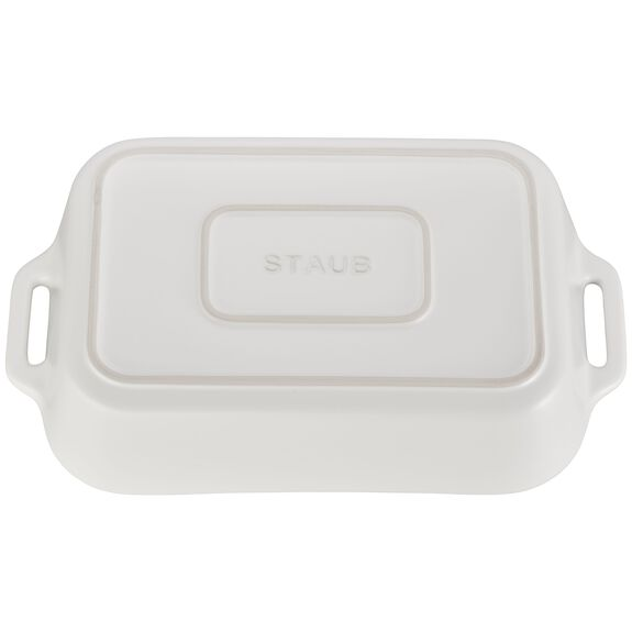 "13x9"" Rectangular Baking Dish, Matte White, , large 3"