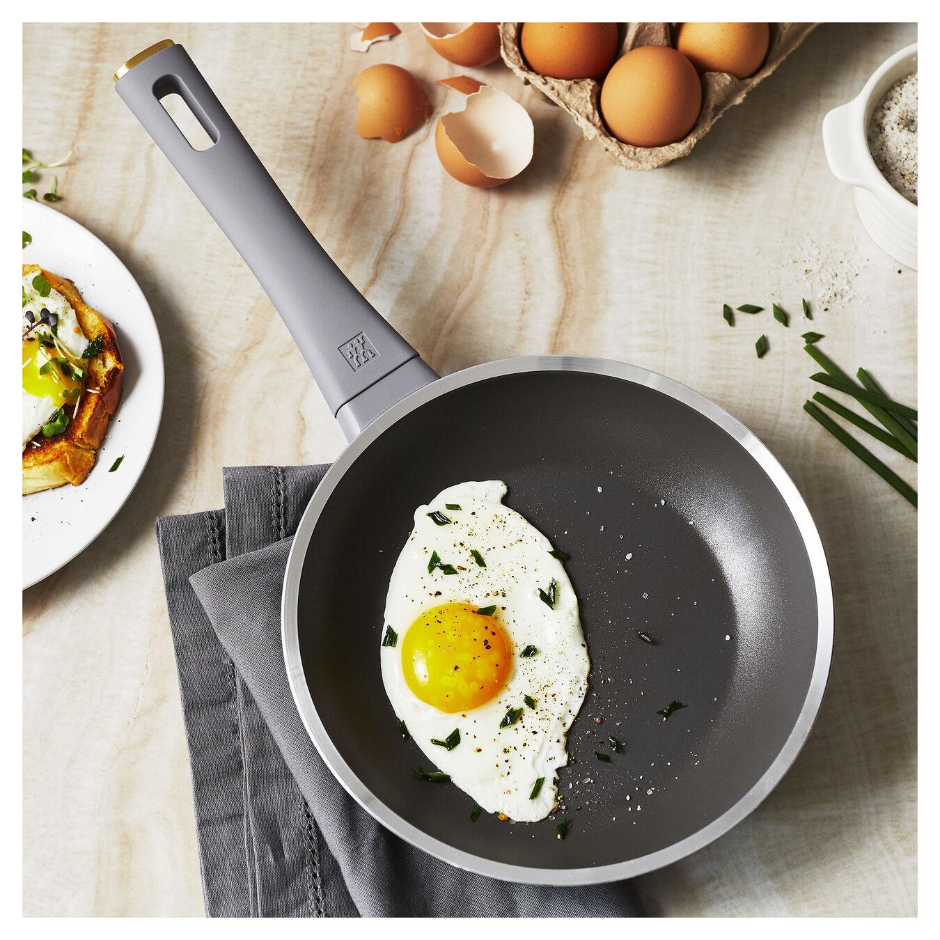 8-inch, Aluminium, Non-stick, Frying pan,,large 8