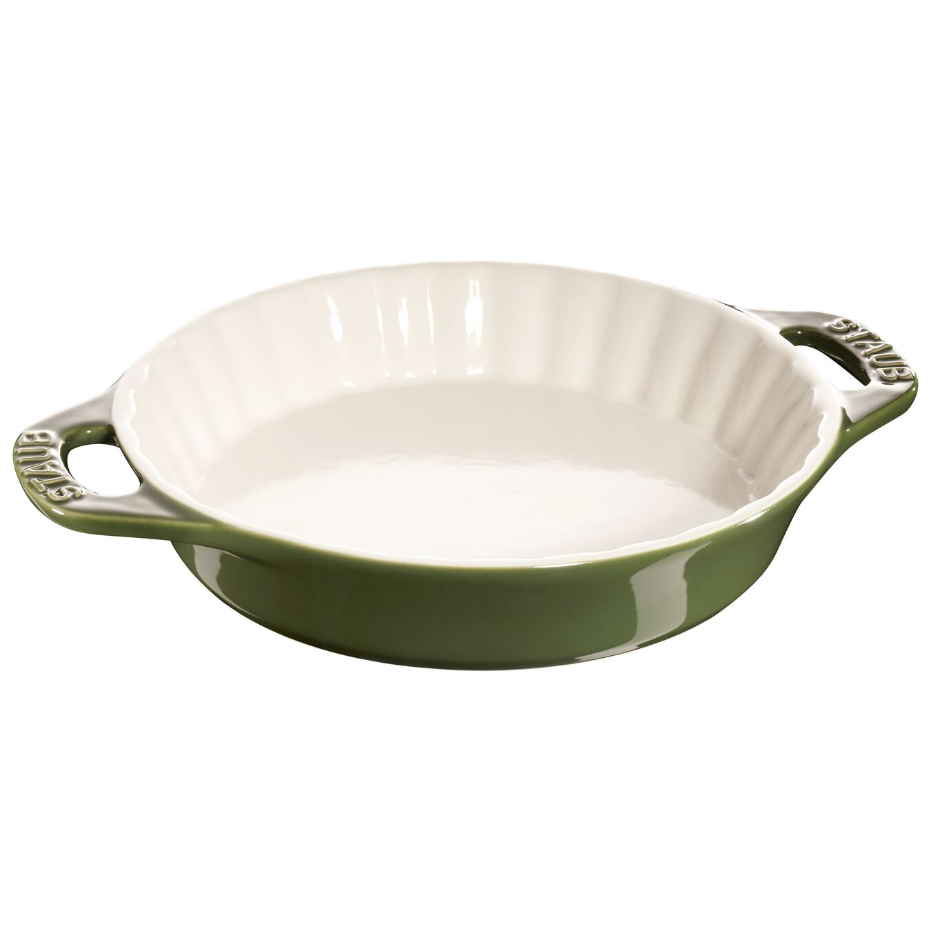 9-inch, Pie dish, basil,,large 1