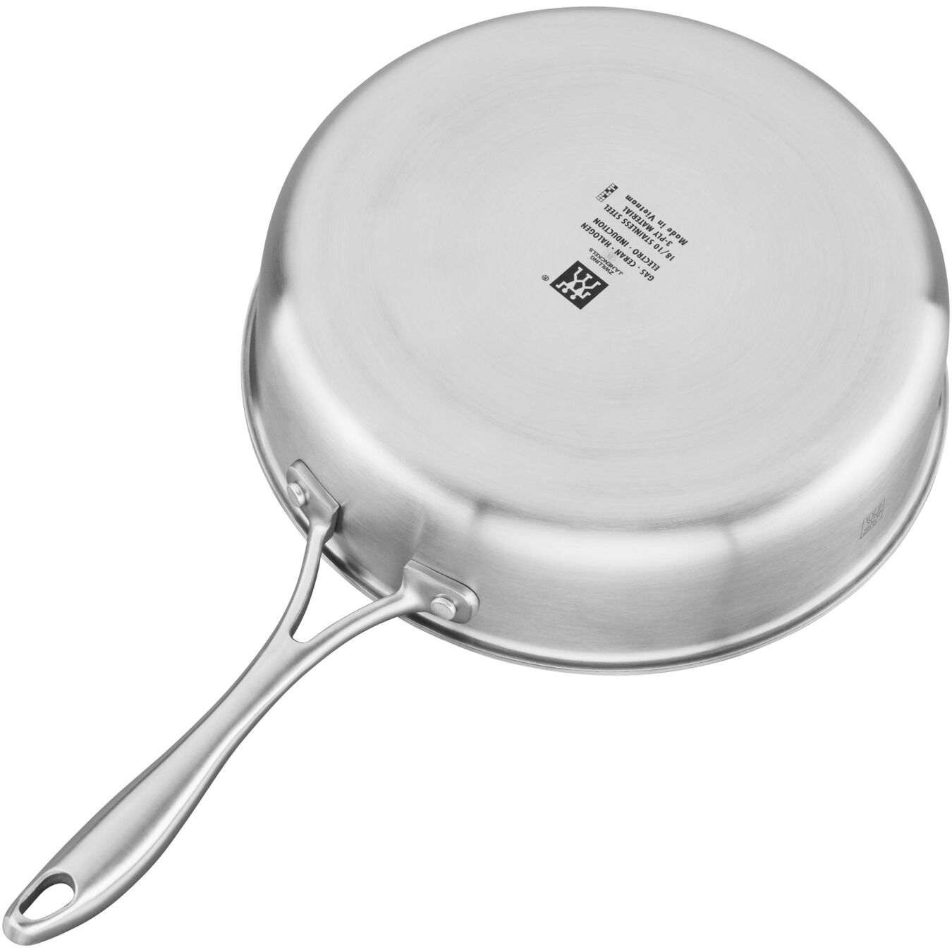 9.5-inch Saute pan, 18/10 Stainless Steel ,,large 3