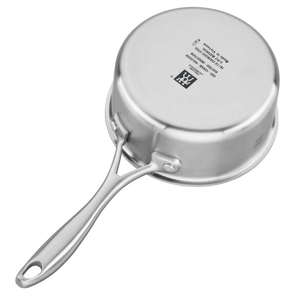 3-ply 1-qt Stainless Steel Saucepan,,large 2