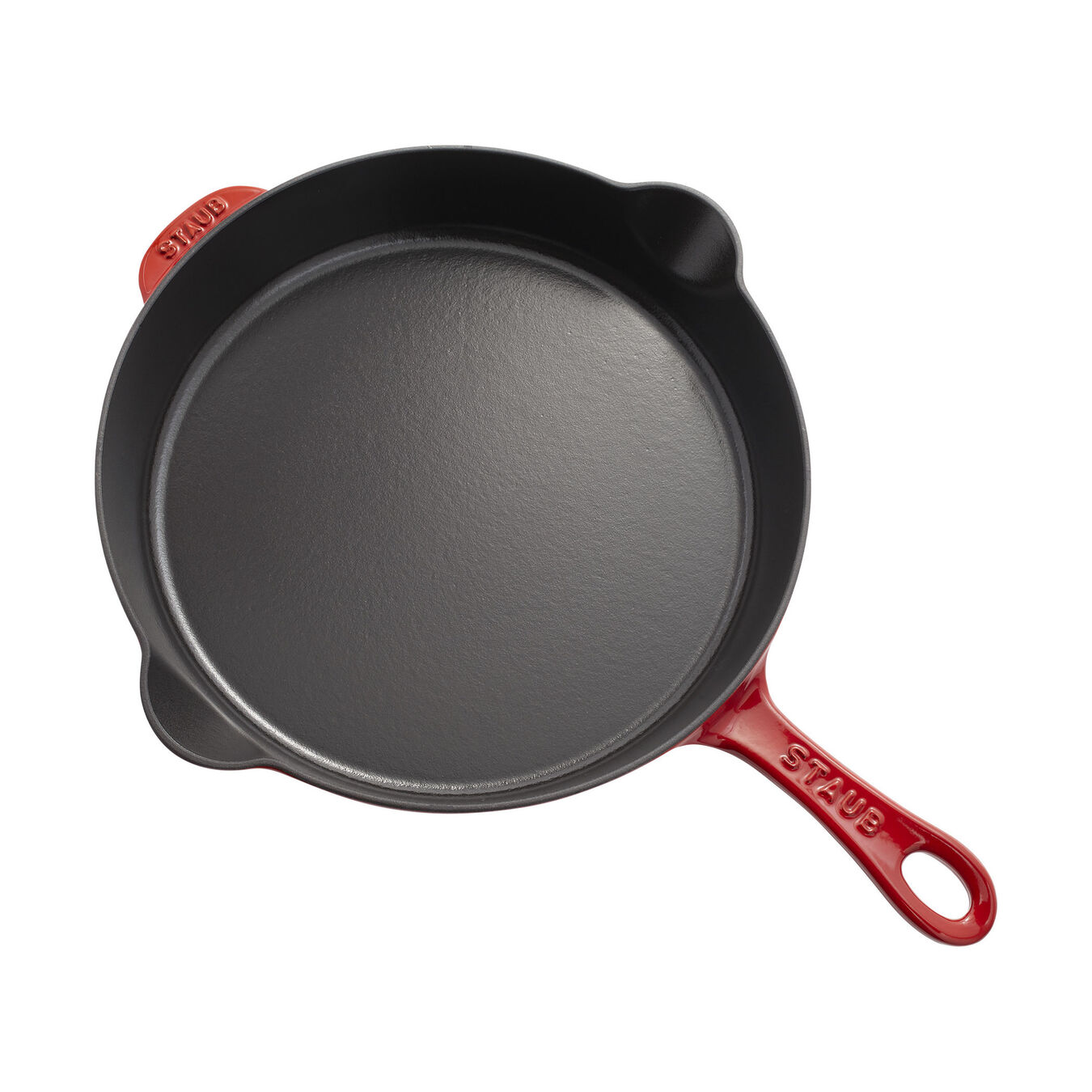 11-inch, Traditional Deep Skillet, cherry,,large 3