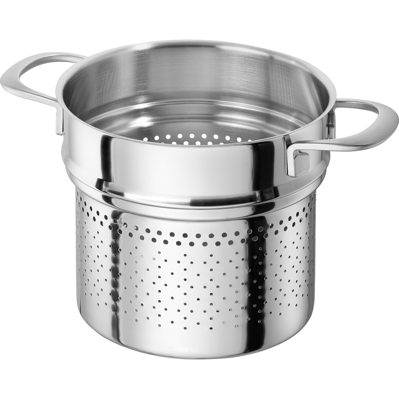 24 cm 18/10 Stainless Steel Pasta insert,,large 1