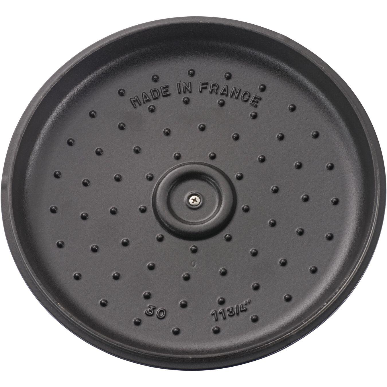3.5 l round Saute pan, dark-blue,,large 4