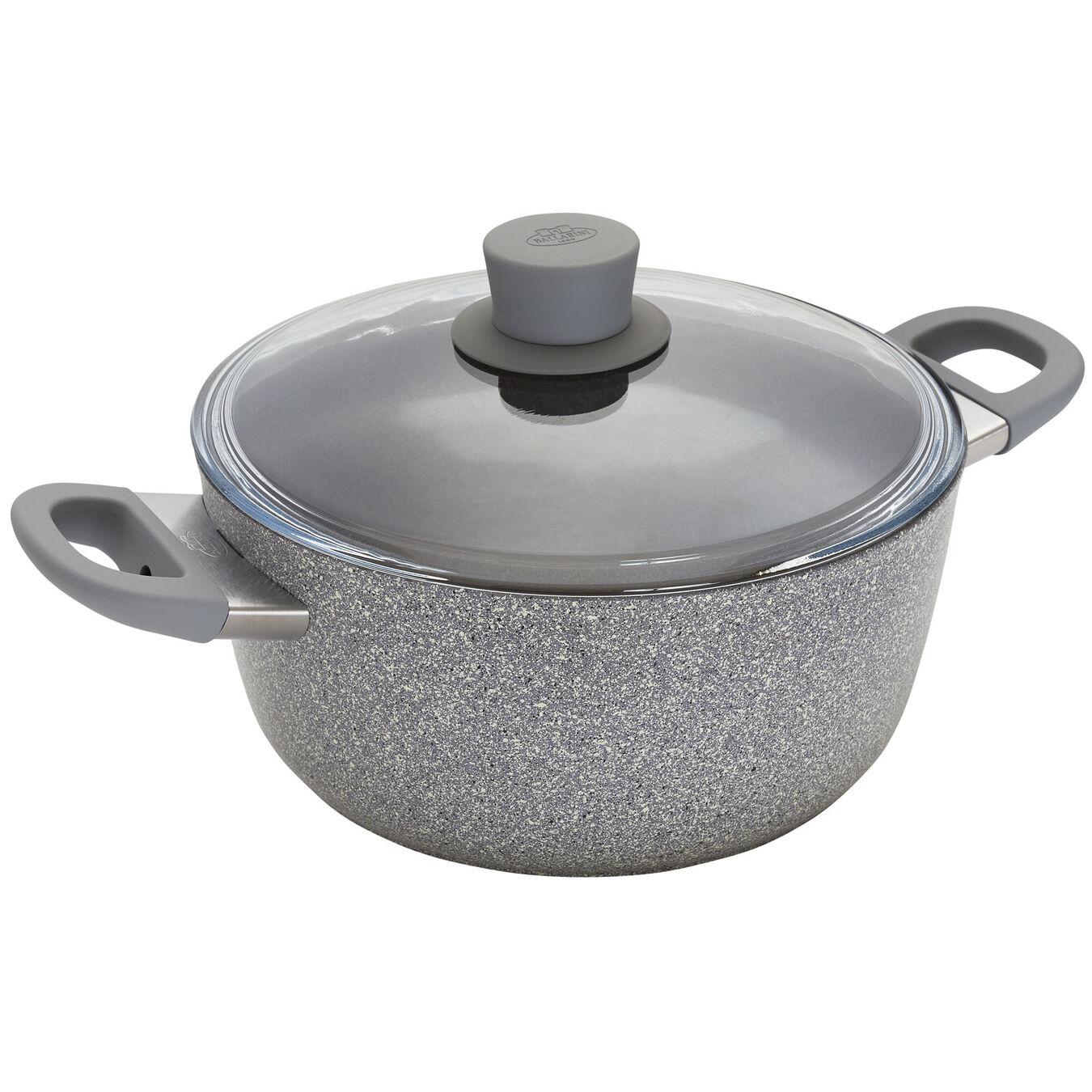 4.8 qt, aluminium, Nonstick Dutch Oven with Lid,,large 1