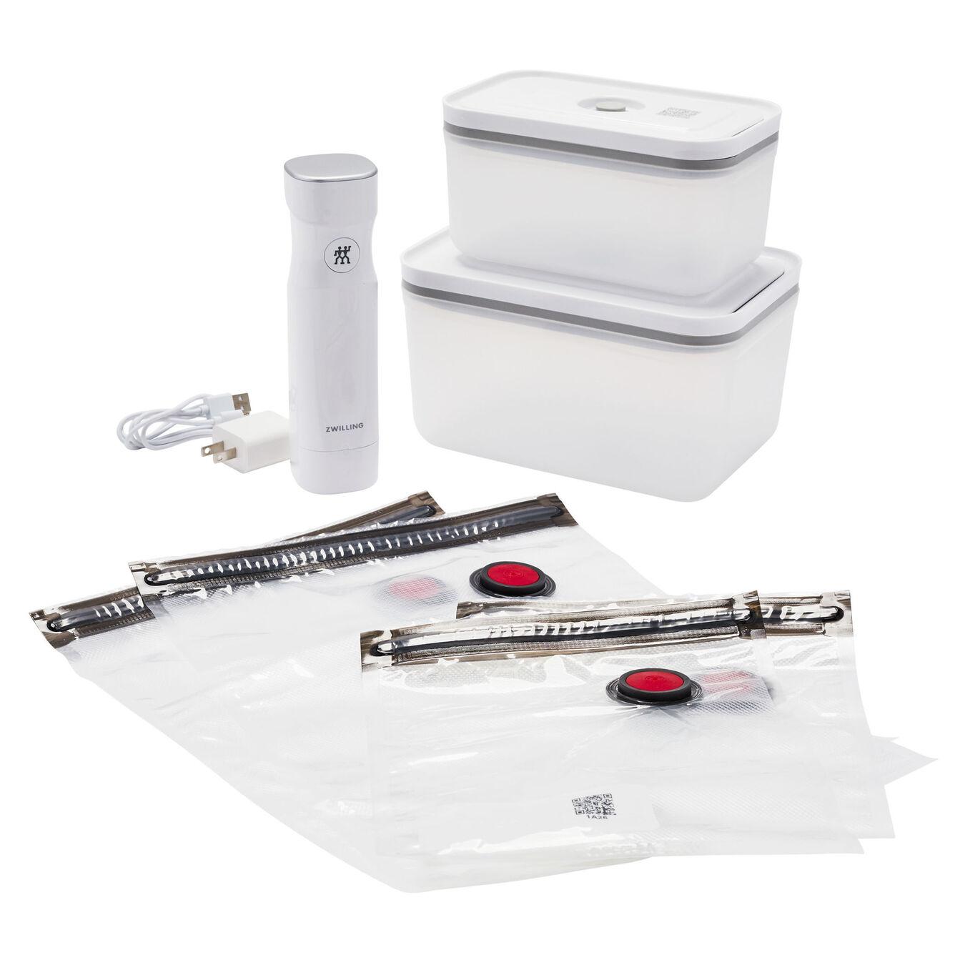 Vacuum starter set, 7 Piece | white | Premium | US/CA,,large 2
