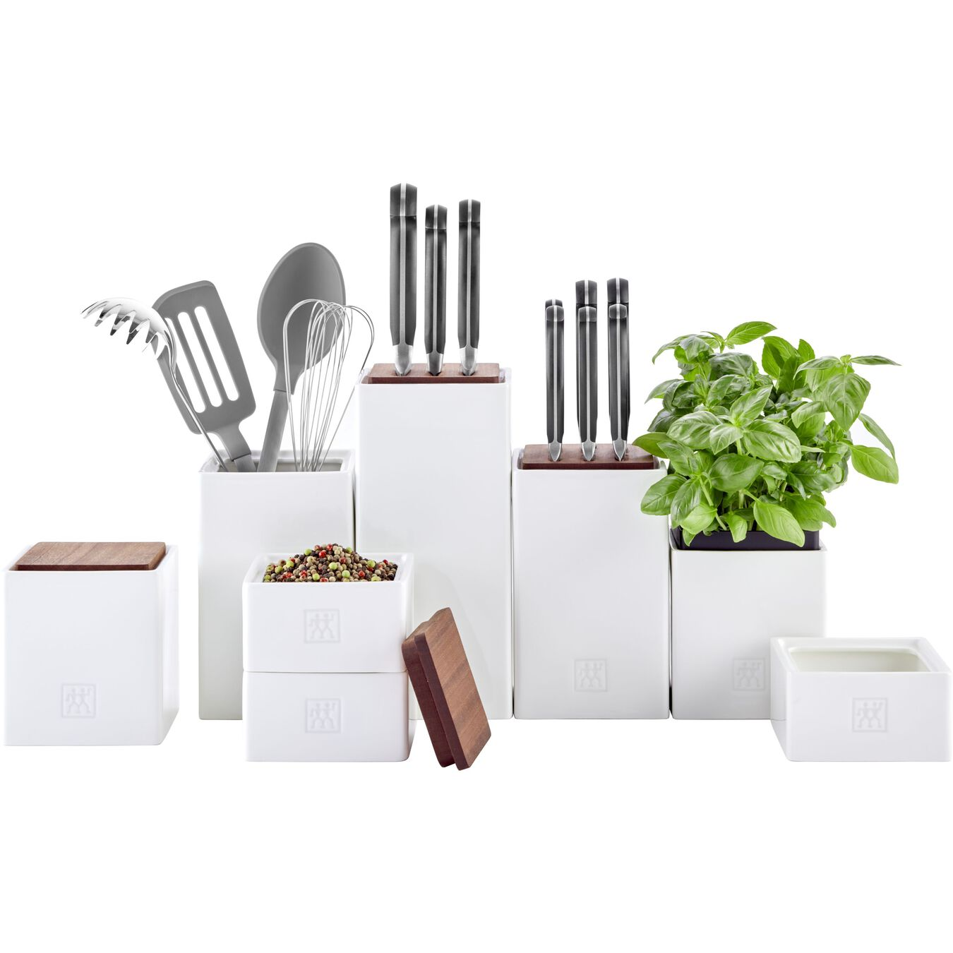 28.75 oz, ceramic, Medium Box with herb Pot and lid ,,large 3
