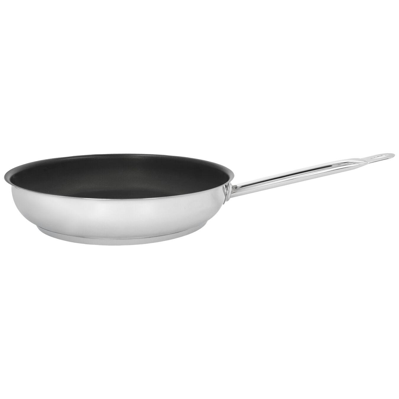 Stekpanna 32 cm, 18/10 Rostfritt stål, Silver-Svart,,large 1