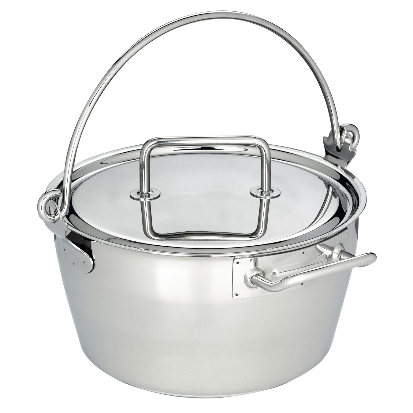 10.6-qt Stainless Steel Maslin Pan,,large 1