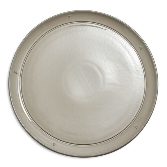"11.25-inch Ceramic Dinner Plate 28.5cm / 11.25"" - Graphite,,large"