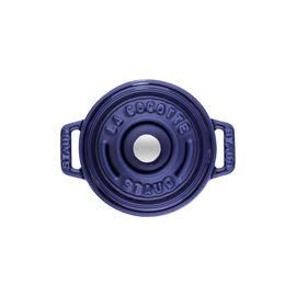 Staub Cast Iron, 0.25-qt Mini Round Cocotte - Dark Blue