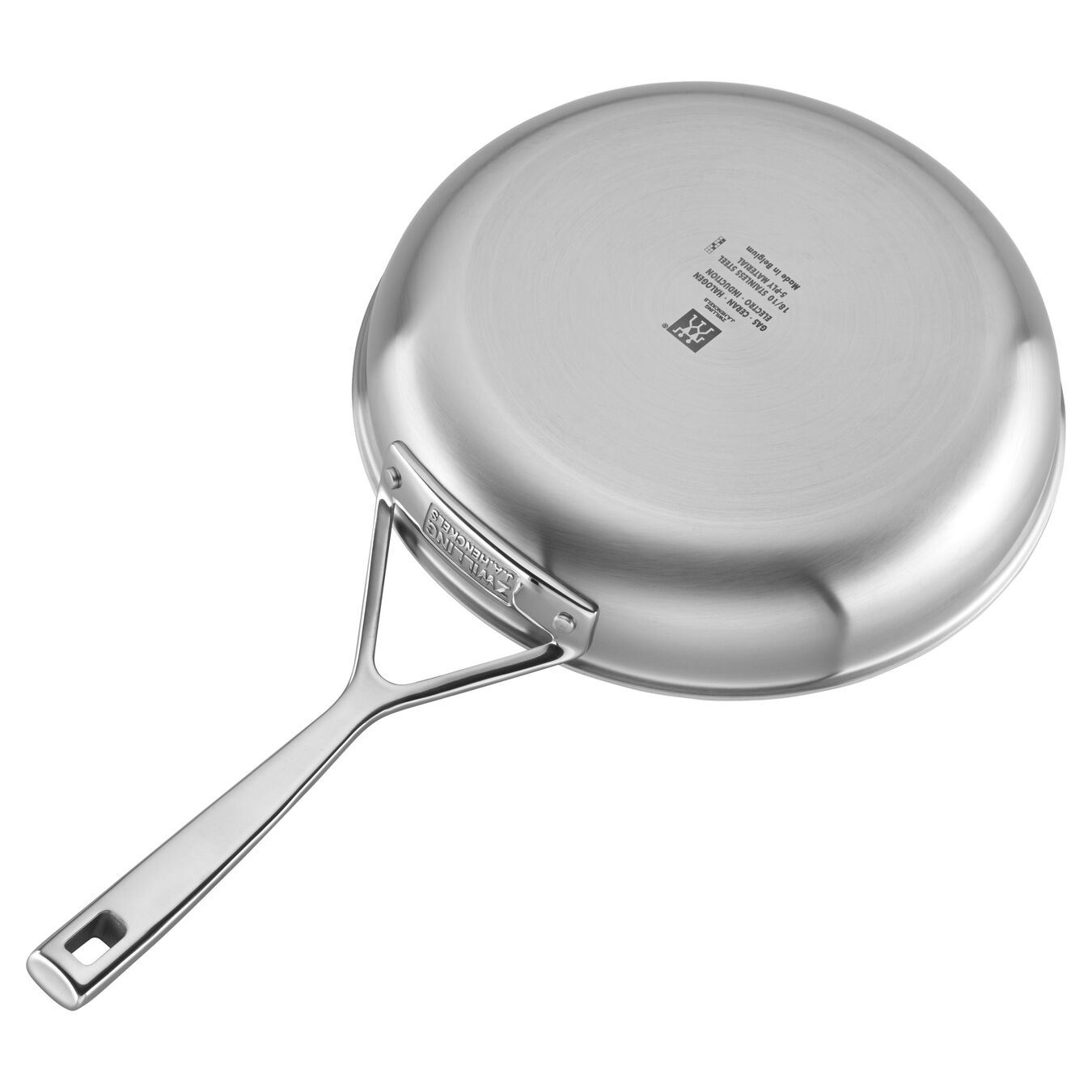 5 Ply, 18/10 Stainless Steel, 9.5-inch, Frying pan,,large 3