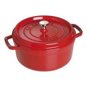 Staub La Cocotte, 3.75 l Cast iron round Cocotte, Cherry