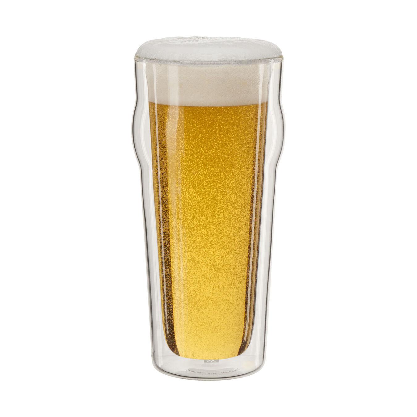 2 Piece Beer glass set,,large 1