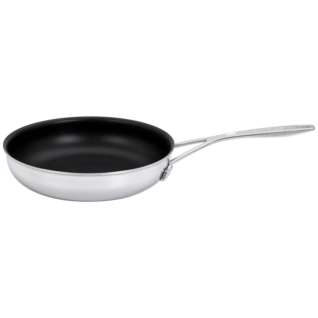 9.5-inch, 18/10 Stainless Steel, Non-stick, PTFE, Frying pan,,large 1