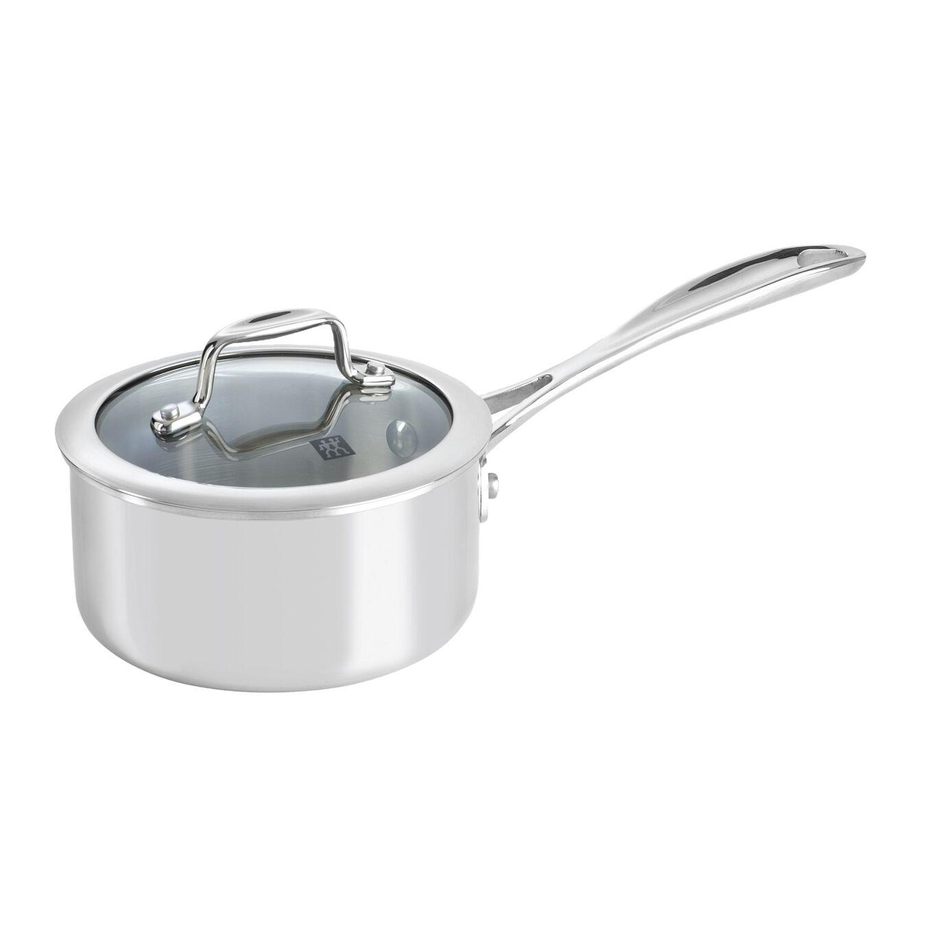 10-pcs 18/10 Stainless Steel Set de casseroles et de poêles,,large 2