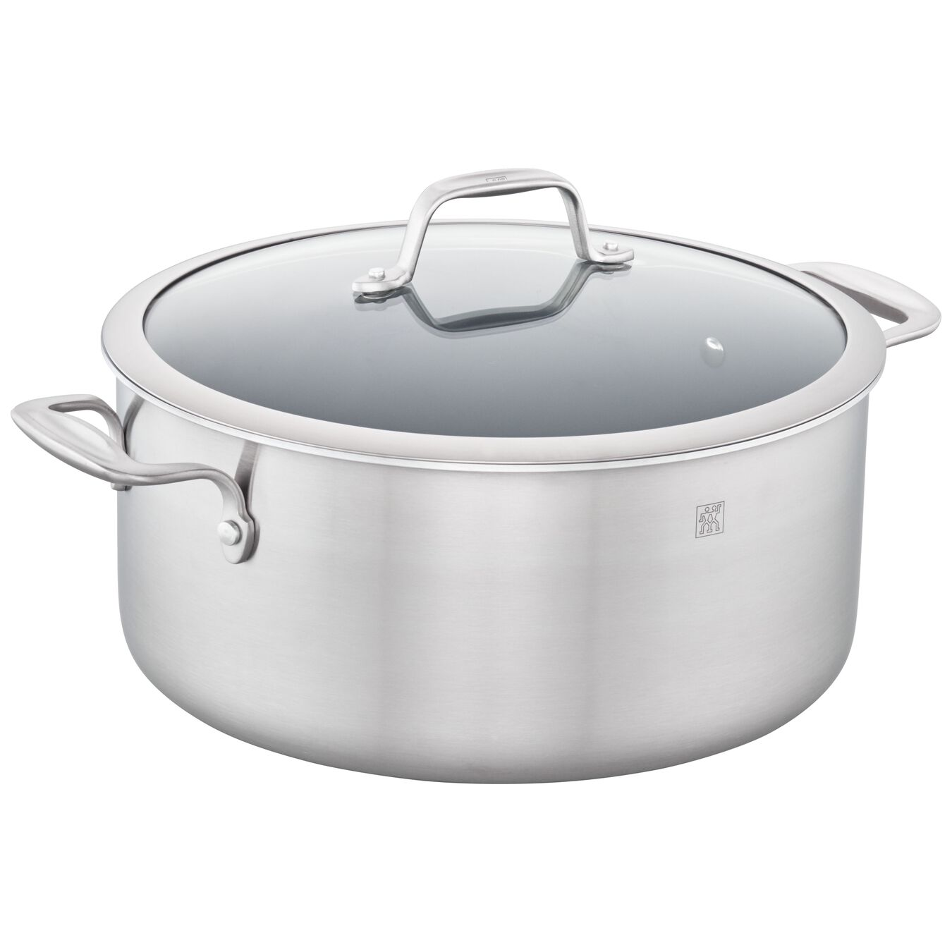 3-ply 8-qt Stainless Steel Ceramic Nonstick Stock Pot,,large 1