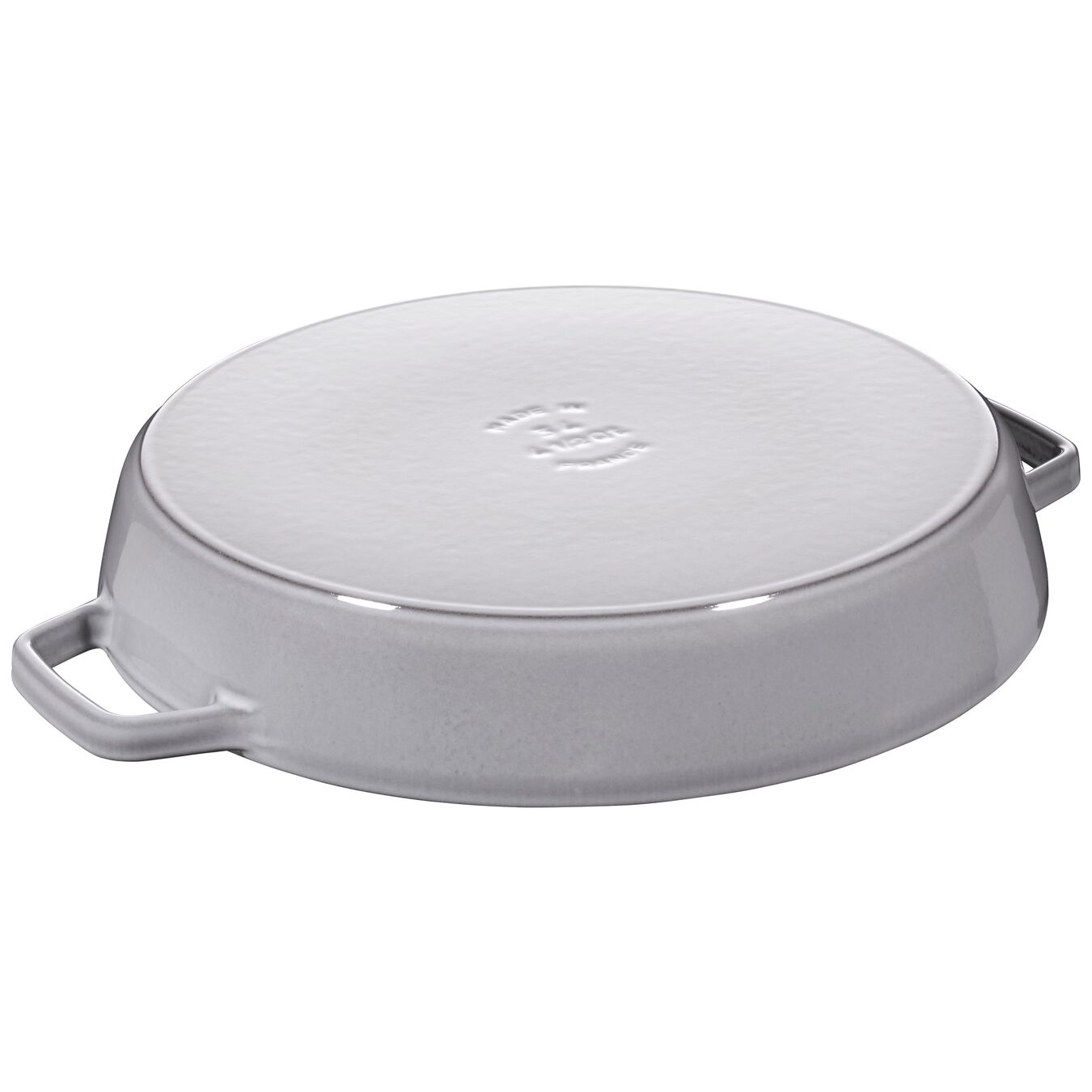 13-inch Double Handle Fry Pan - Visual Imperfections - Graphite Grey,,large 2
