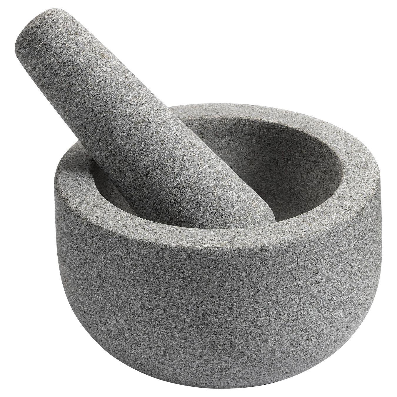 Mörser, rund | Grau | Granit,,large 1
