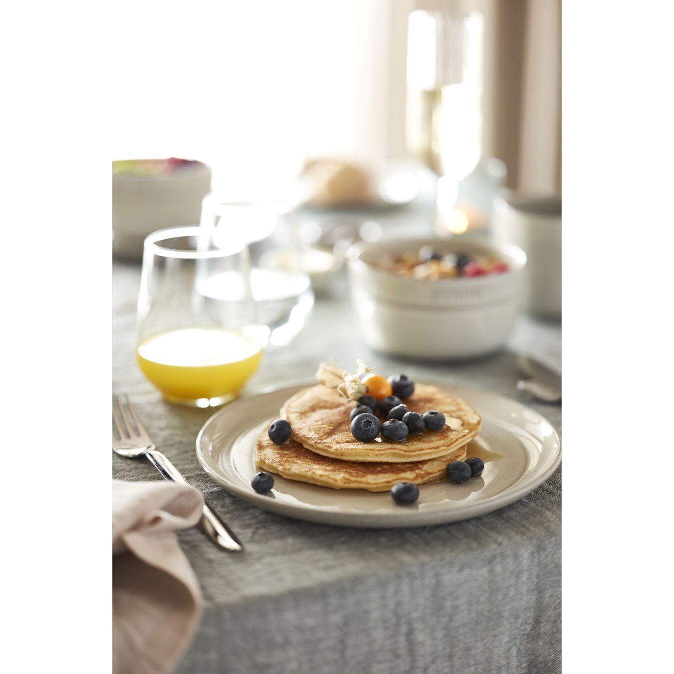Serving set, 48 Piece | white truffle | ceramic,,large 9