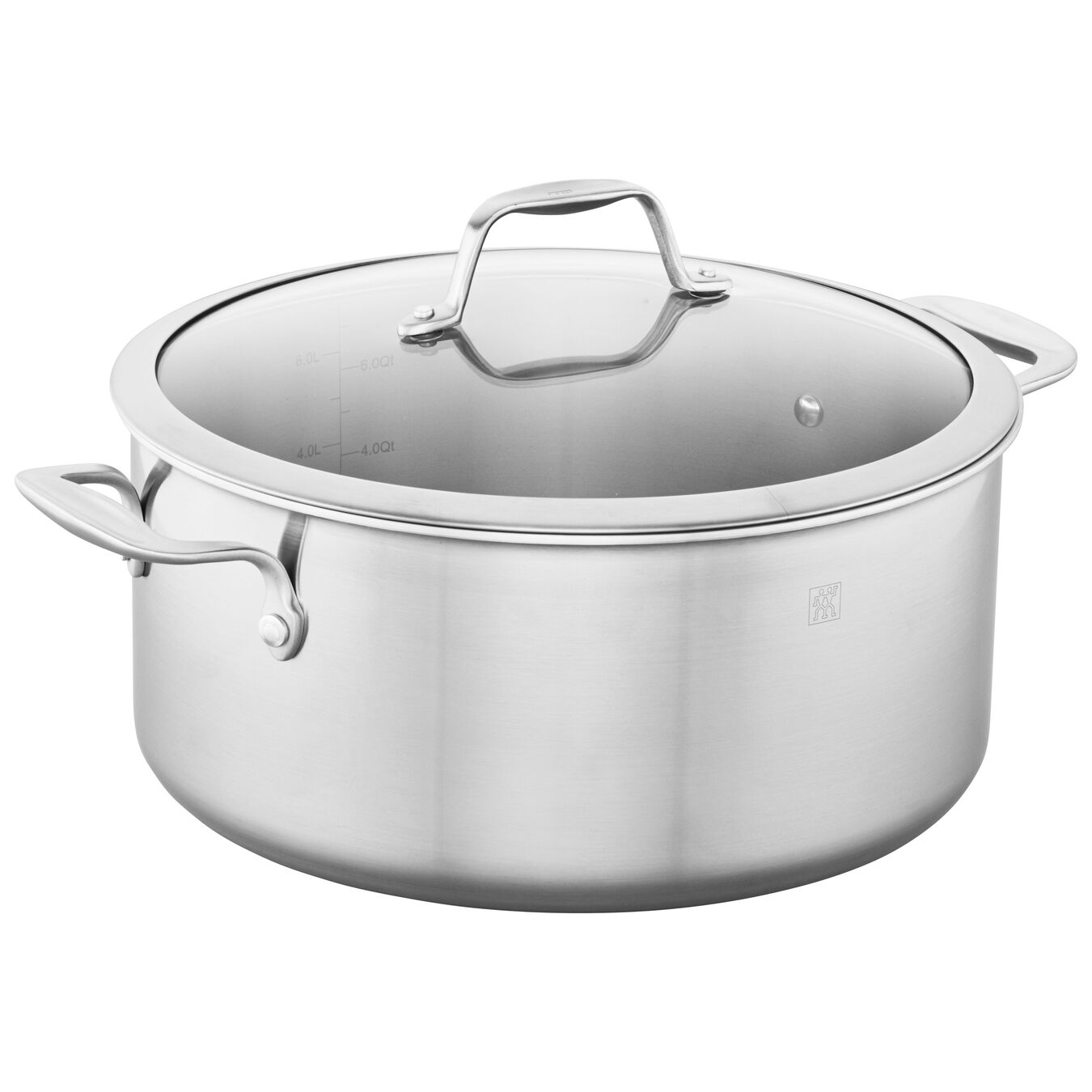 8 qt, Stainless Steel Dutch Oven,,large 2