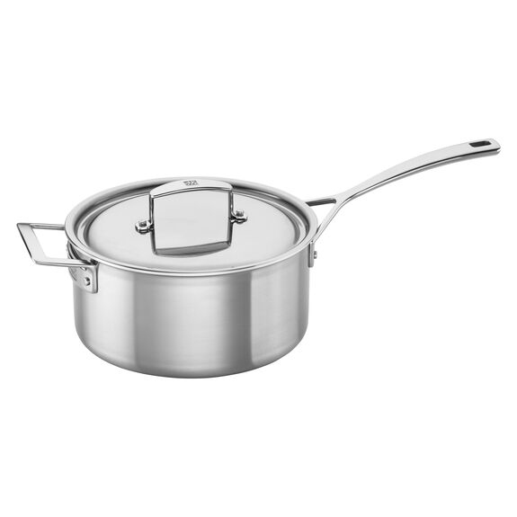 Stainless Steel 4-Qt. Saucepan,,large 3