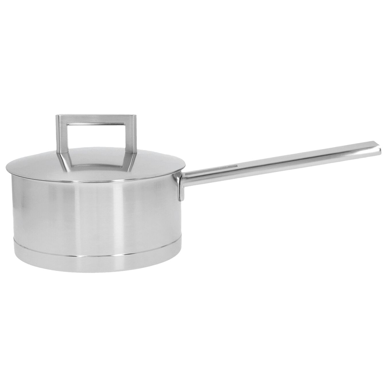 1.6 qt Sauce pan with double walled lid, 18/10 Stainless Steel ,,large 1