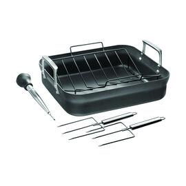 ZWILLING Motion, 41 cm / 16 inch aluminium rectangular Grill pan, black