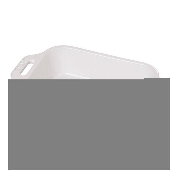 10.5-inch x 7.5-inch Rectangular Baking Dish - White,,large