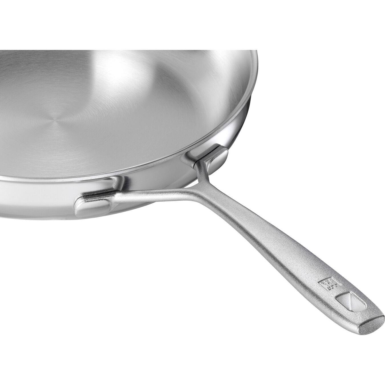 Poêle 28 cm, Inox 18/10, Argent,,large 5